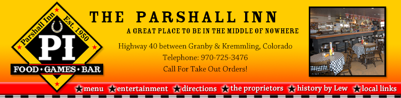 The Parshall Inn A Great Place to Be In the Middle of No Where